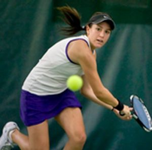 Cara Wirth of Wilson School District is playing well at her tournament in Philadelphia this weekend.